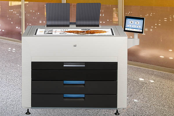 Sistemi di stampa laser grande formato Kip